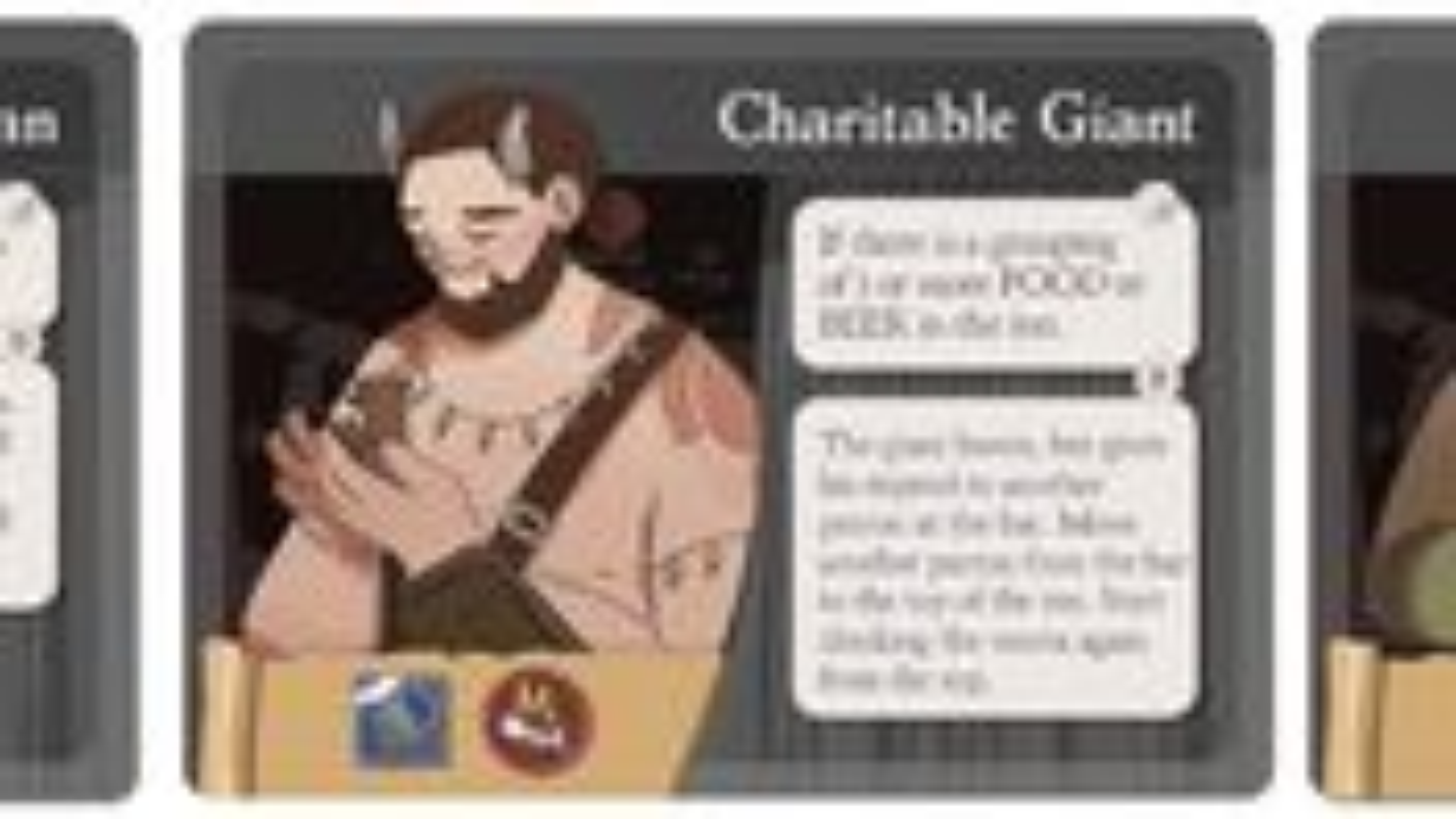 Ugly Gryphon Inn card