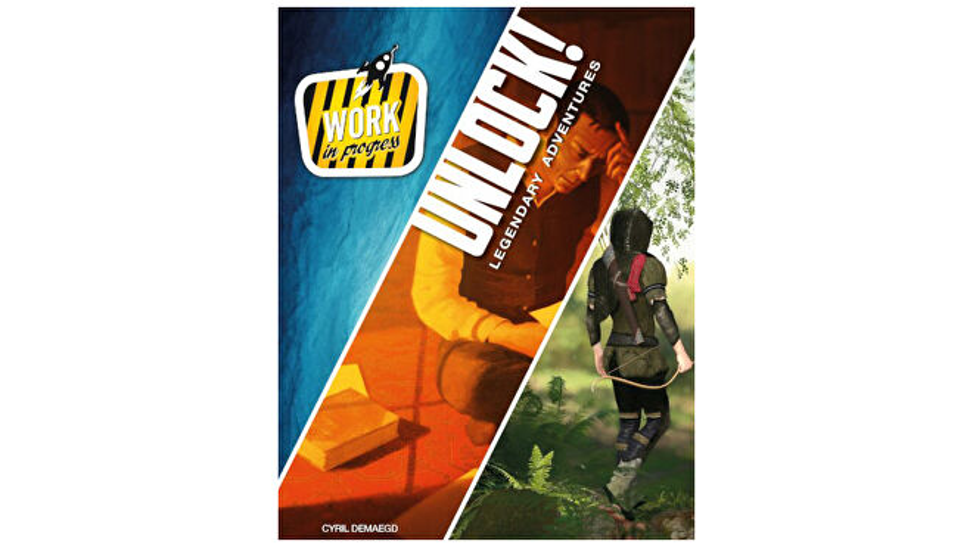 Unlock: Legendary Adventures artwork