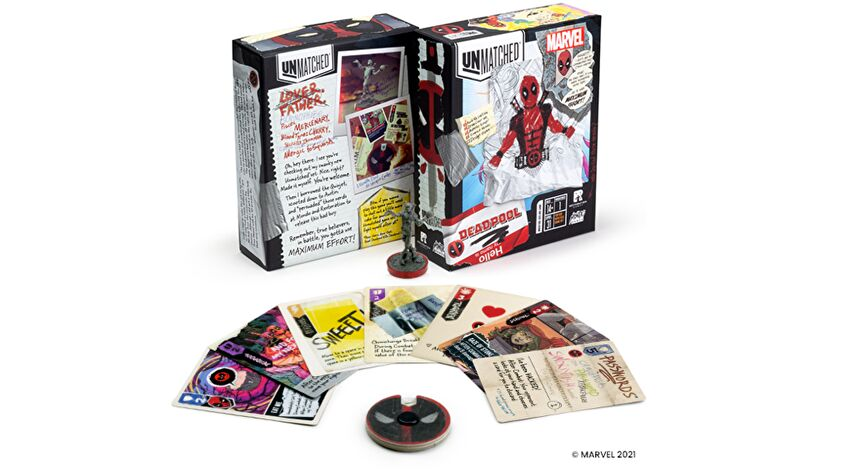 Unmatched: Deadpool expansion layout