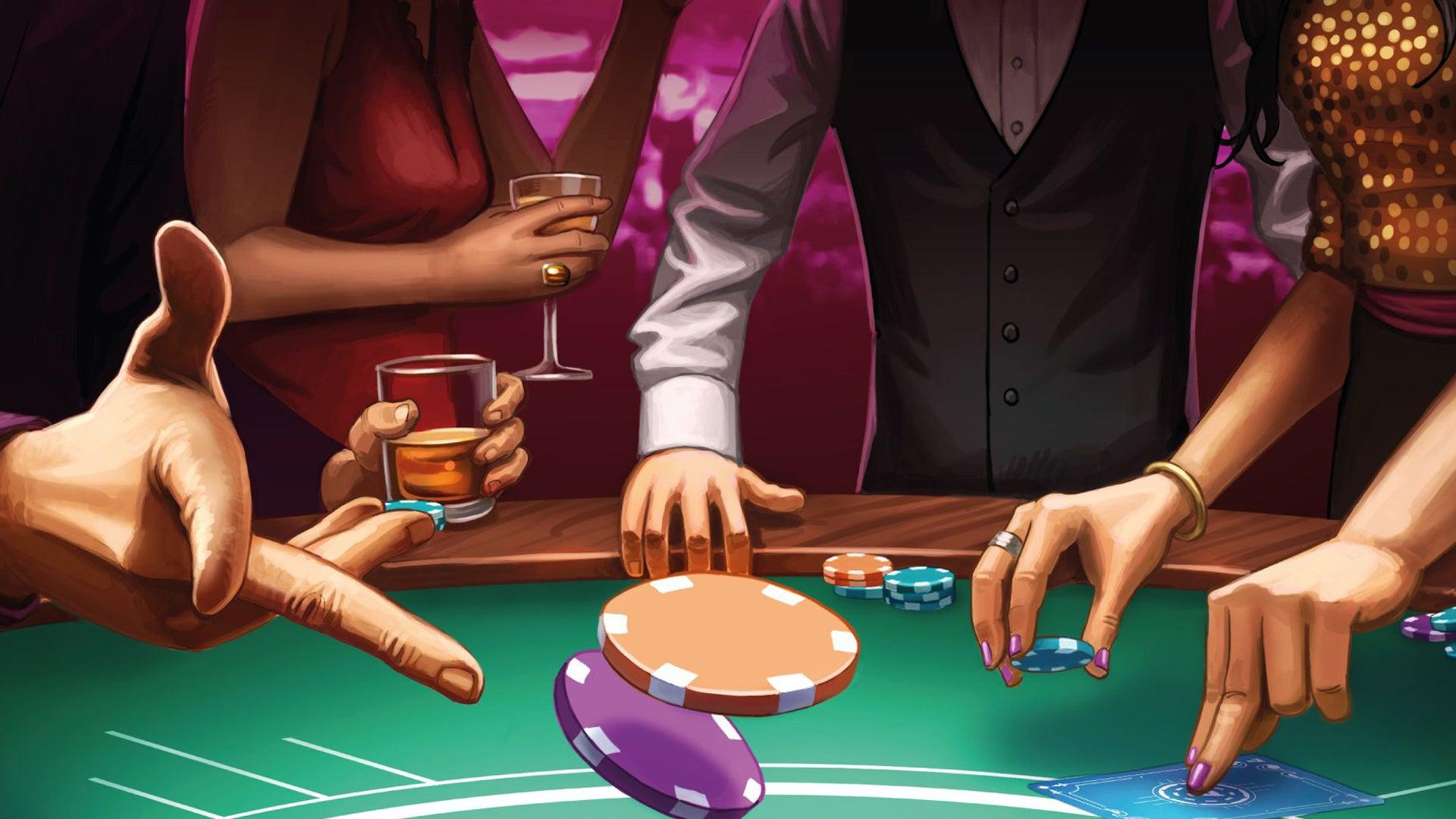 Vabanque board game artwork