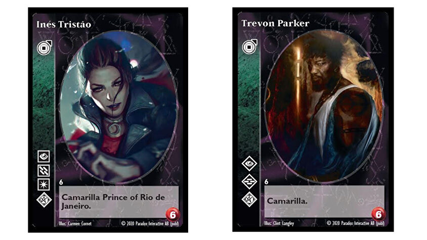 Vampire: The Eternal Struggle Fifth Edition collectible card game cards