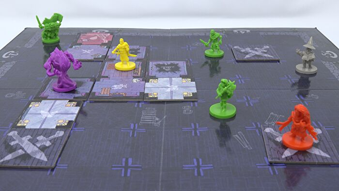 Vast: The Mysterious Manor board game layout 1