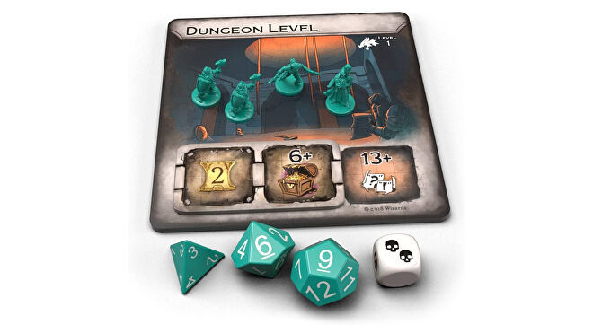 Vault of Dragons board game layout