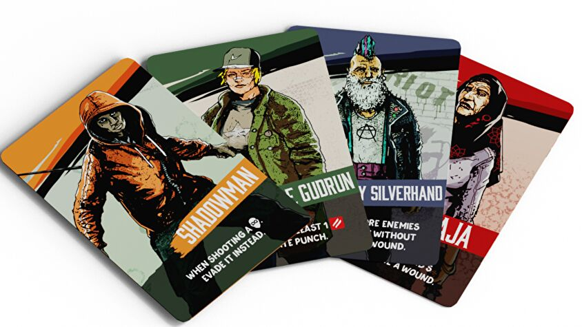 Vengeance: Roll and Fight cards