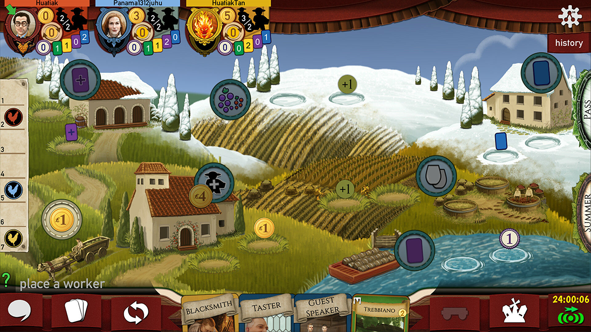 Wine-making board game Viticulture is coming to PC and mobile   Dicebreaker