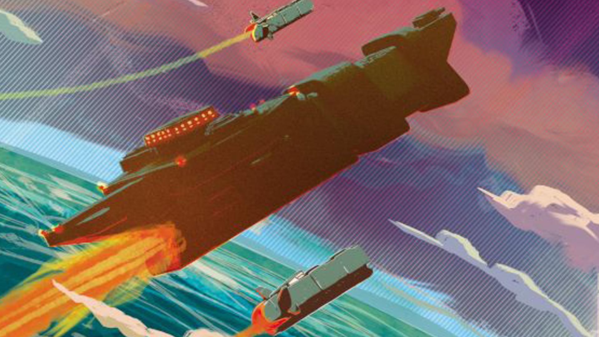 Voidfall board game artwork cover