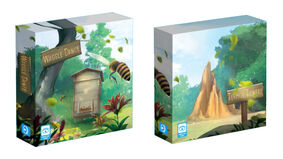 Waggle Dance and Termite Towers boxes