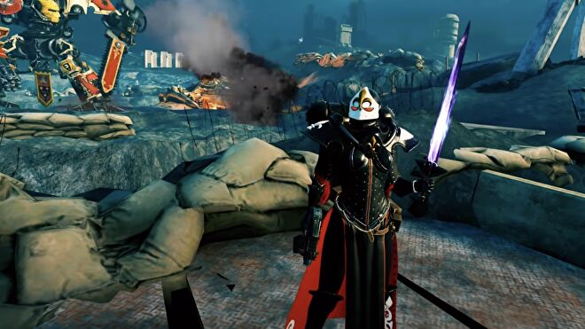 Warhammer 40K Battle Sister trailer screenshot