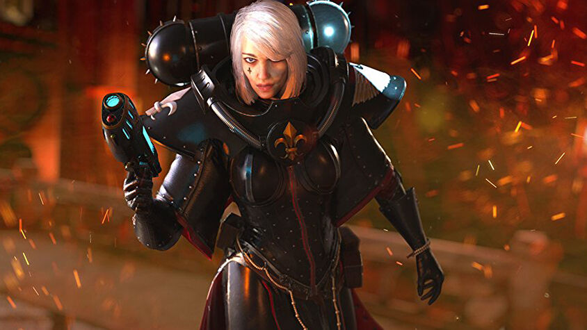 Warhammer 40K Battle Sister video game image