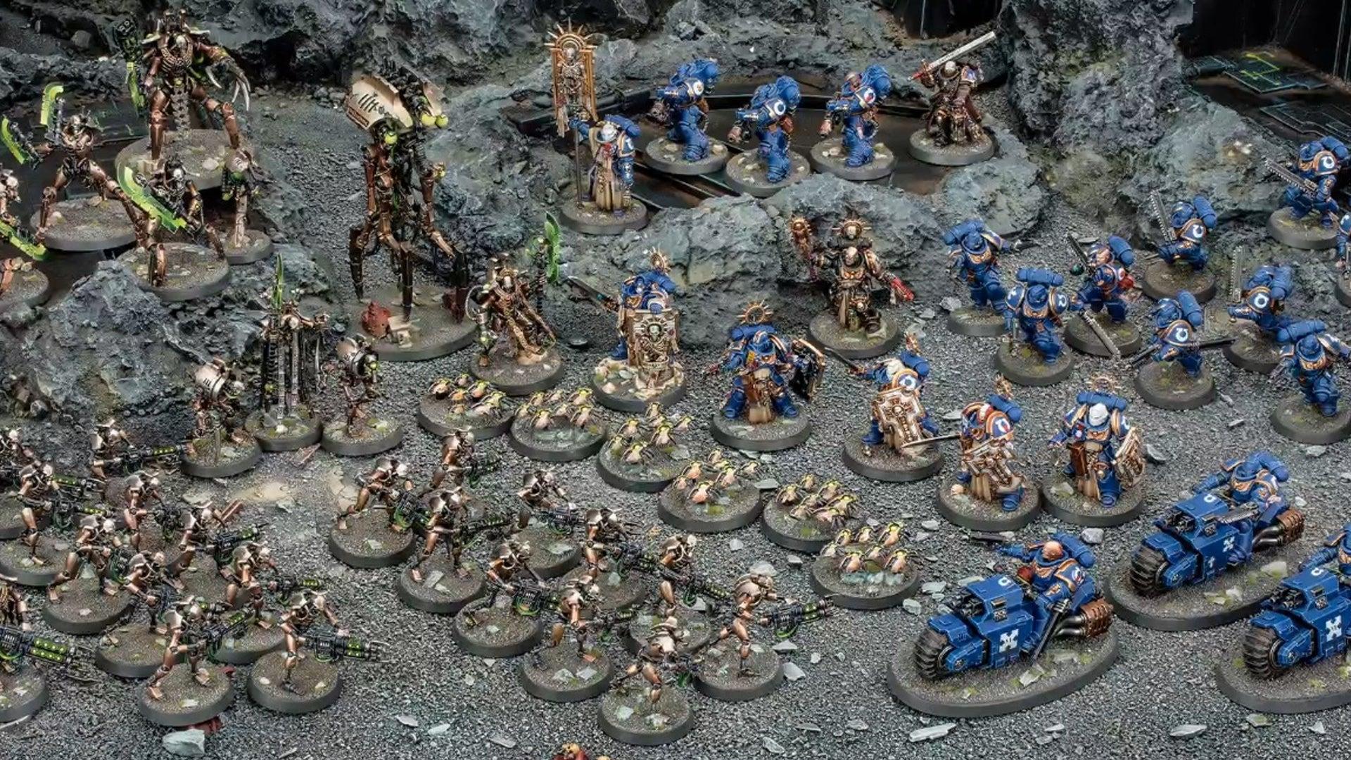 warhammer 40000 models