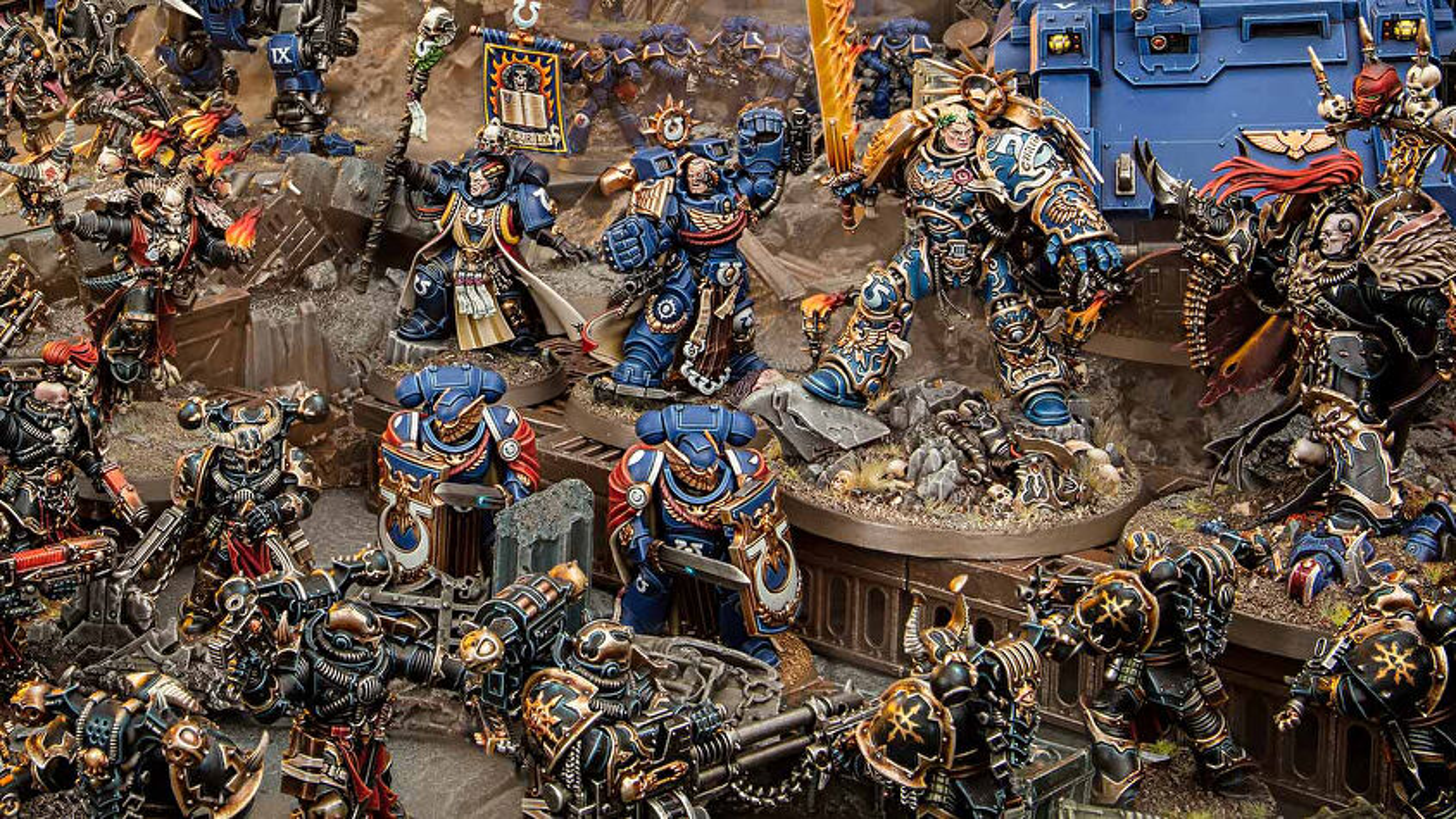 Warhammer 40K miniatures game miniatures image 1
