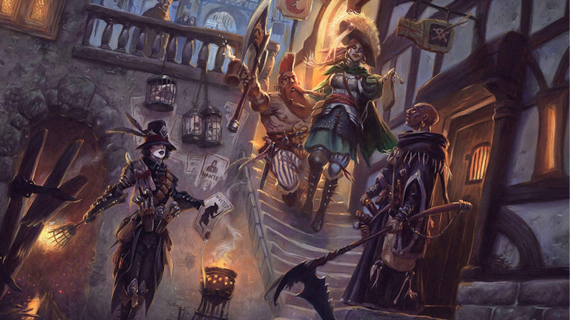 Warhammer Fantasy Roleplay RPG 4E starter set artwork