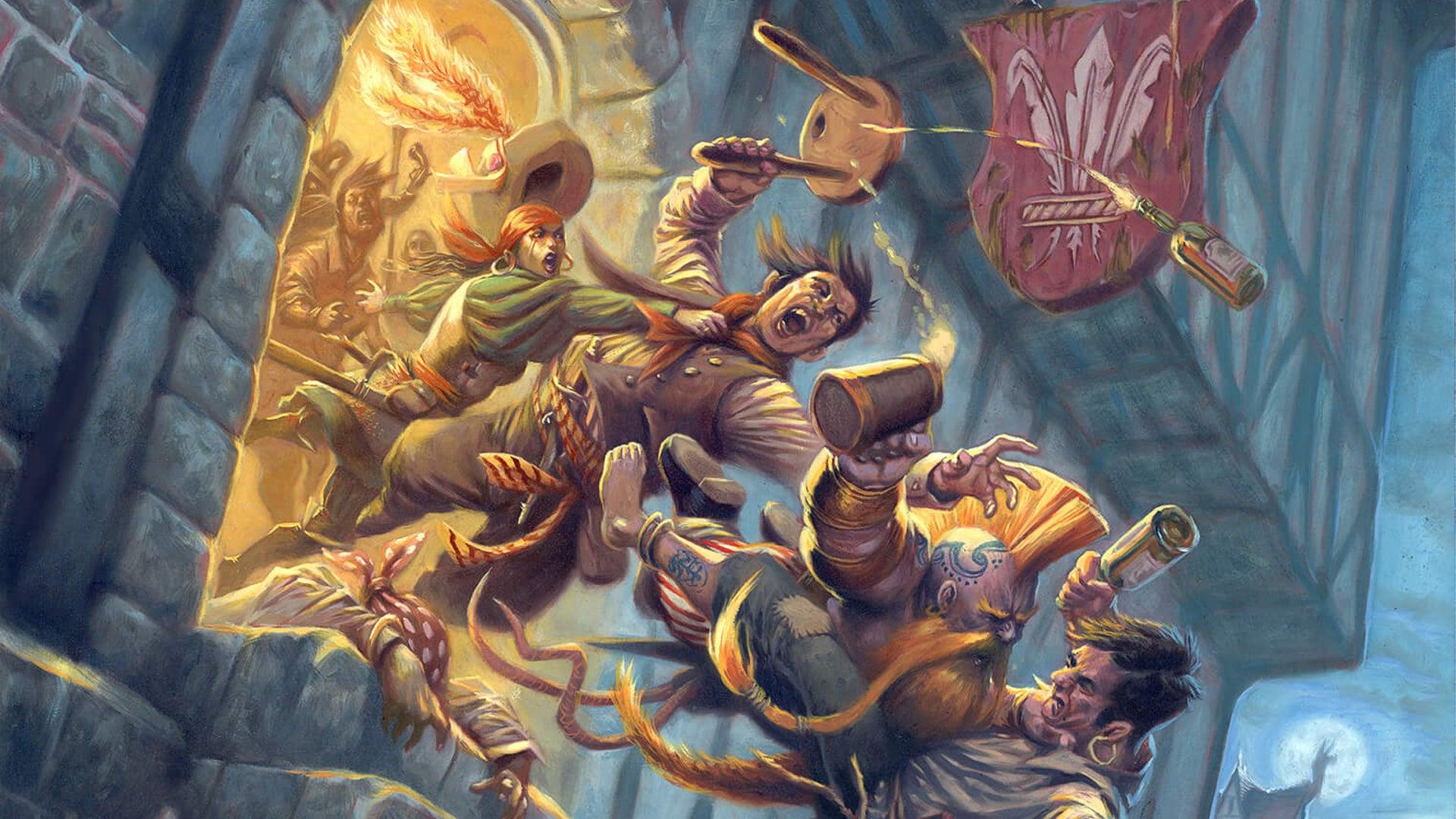 Warhammer Fantasy Roleplay RPG Rough Nights & Hard Days artwork