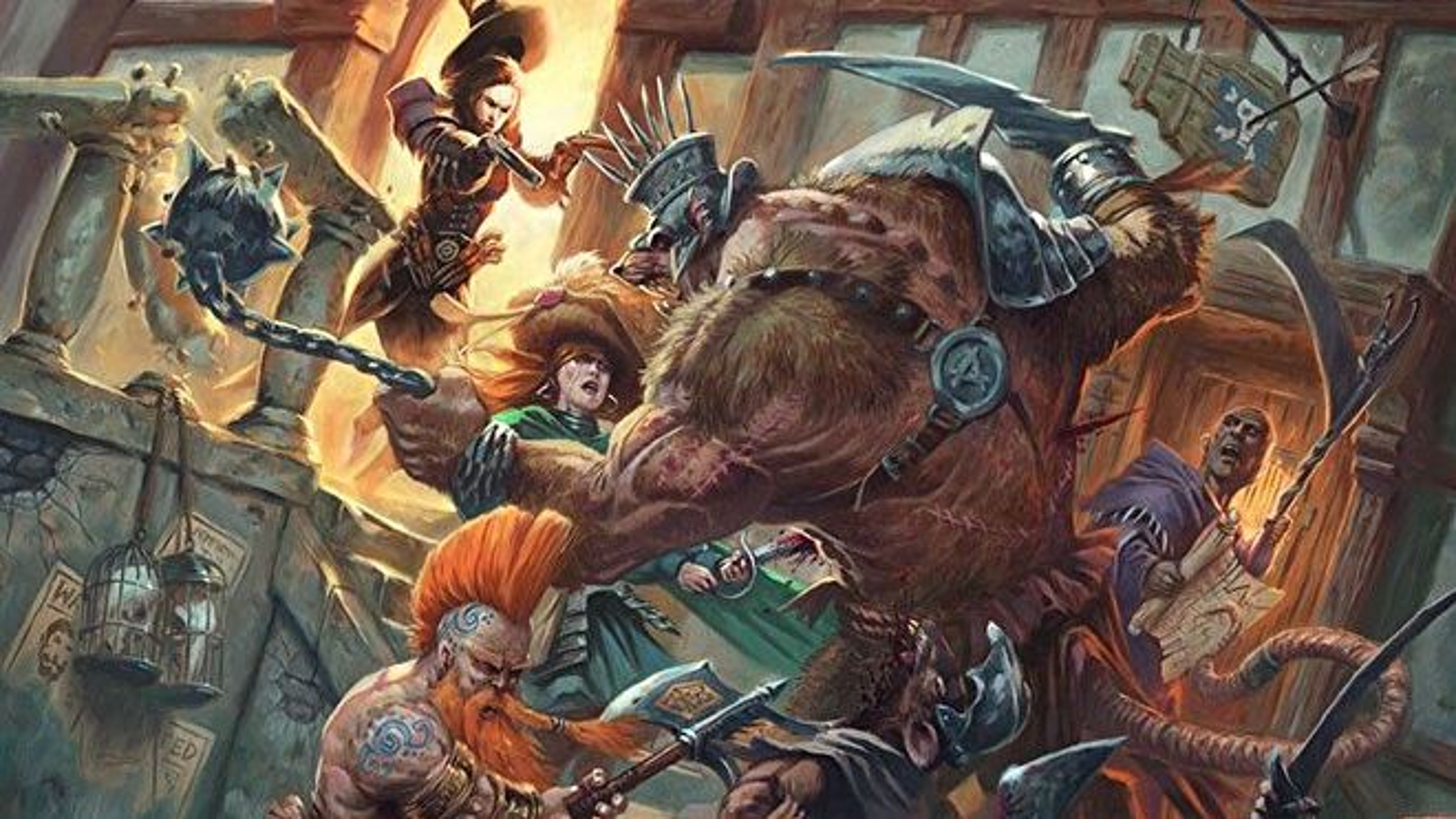 Warhammer fantasy RPG 4E.