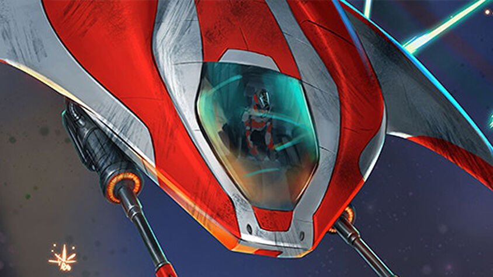 Warp's Edge board game artwork