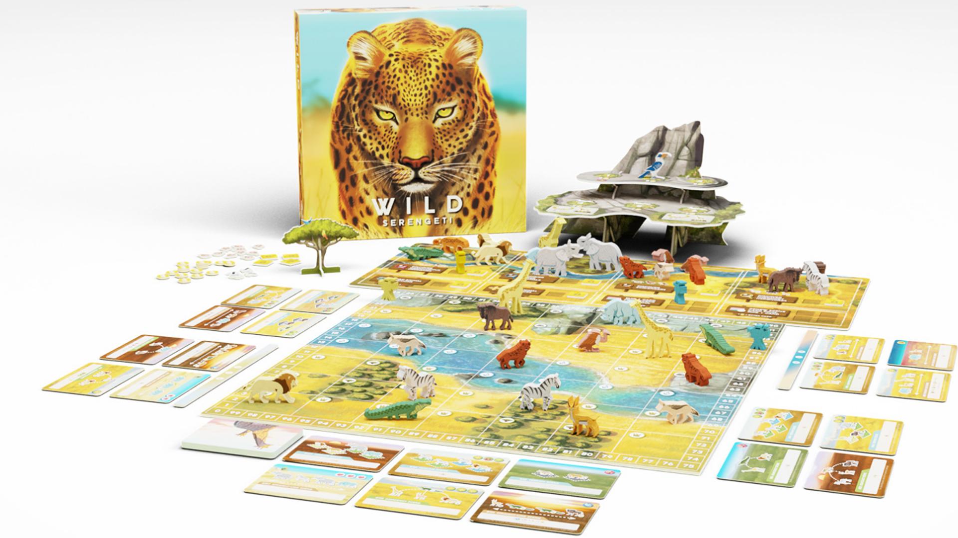 Wild: Serengeti layout