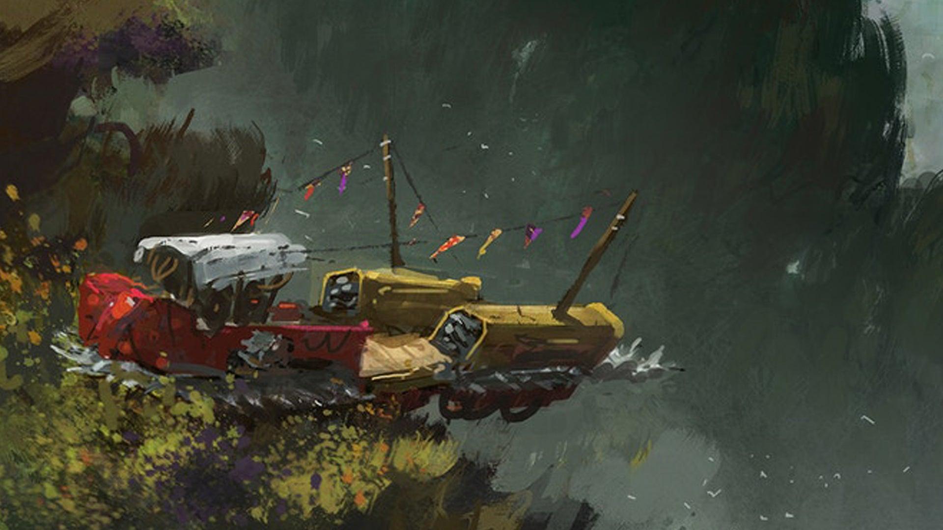 Wildsea RPG artwork