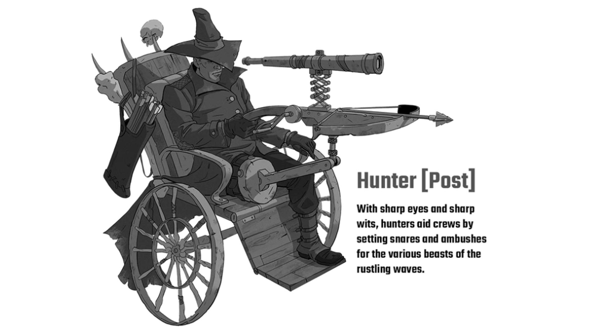 Wildsea RPG character artwork