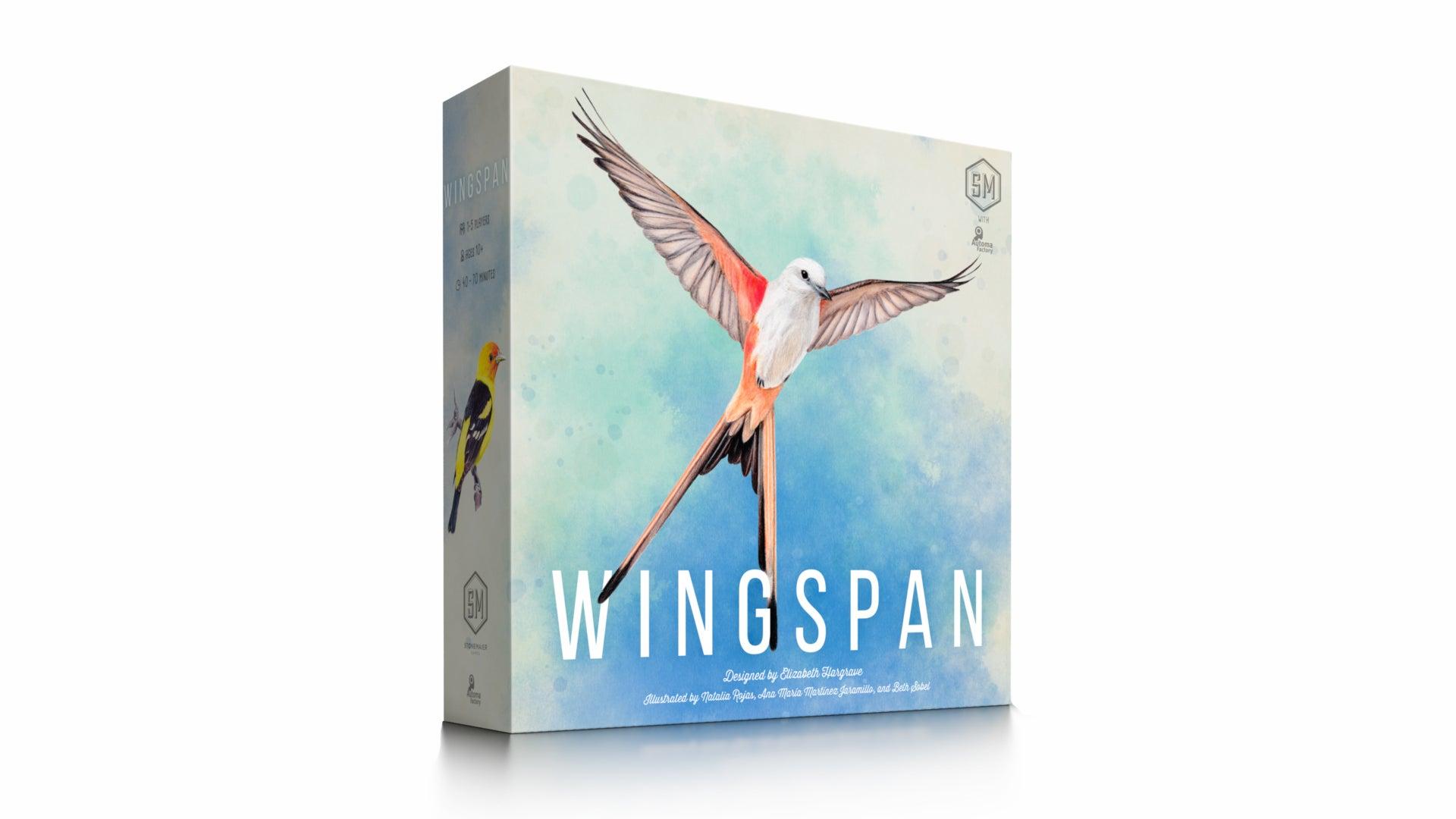 Wingspan board game box