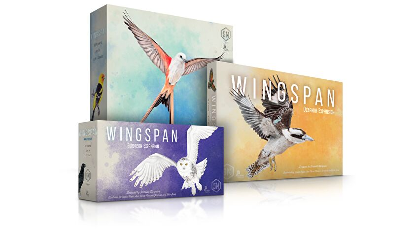Wingspan board game collection