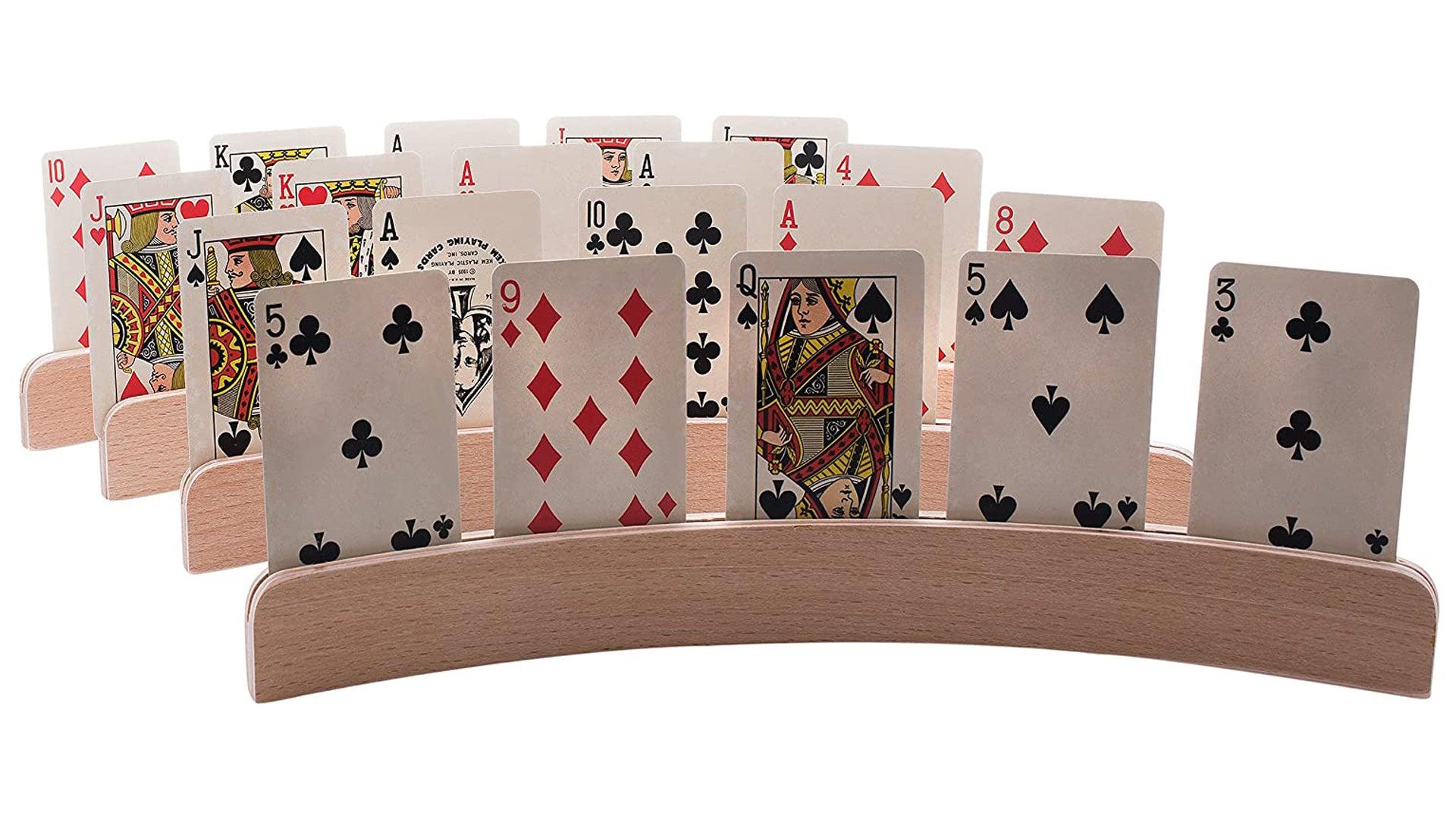 Wooden card holder image