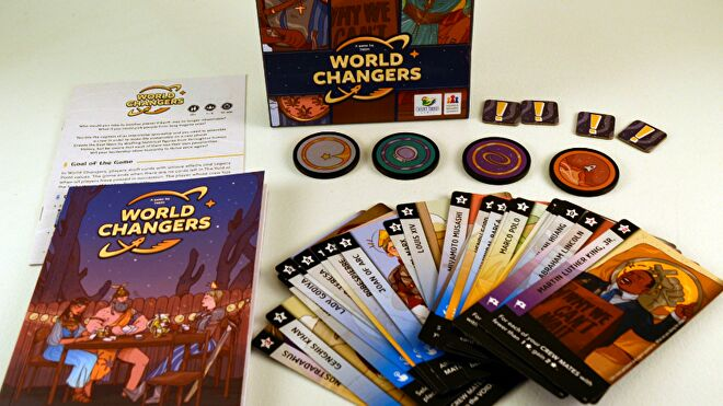 World Changers game layout