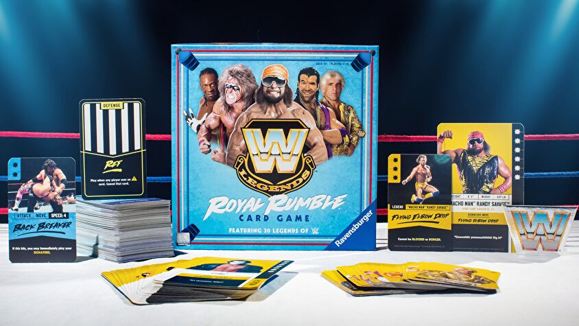 WWE Legends Royal Rumble Card Game layout 2