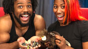 Image for WWE wrestlers Xavier Woods and Ember Moon are playing D&D with DM Aabria Iyengar next month