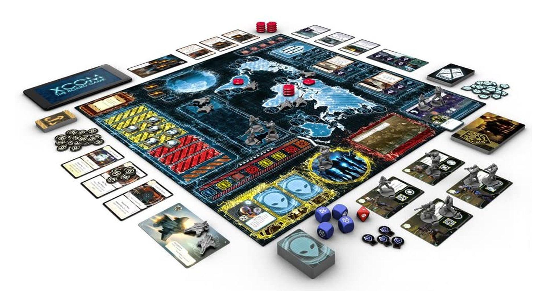XCOM: The Board Game layout