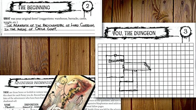 You Are the Dungeon layout