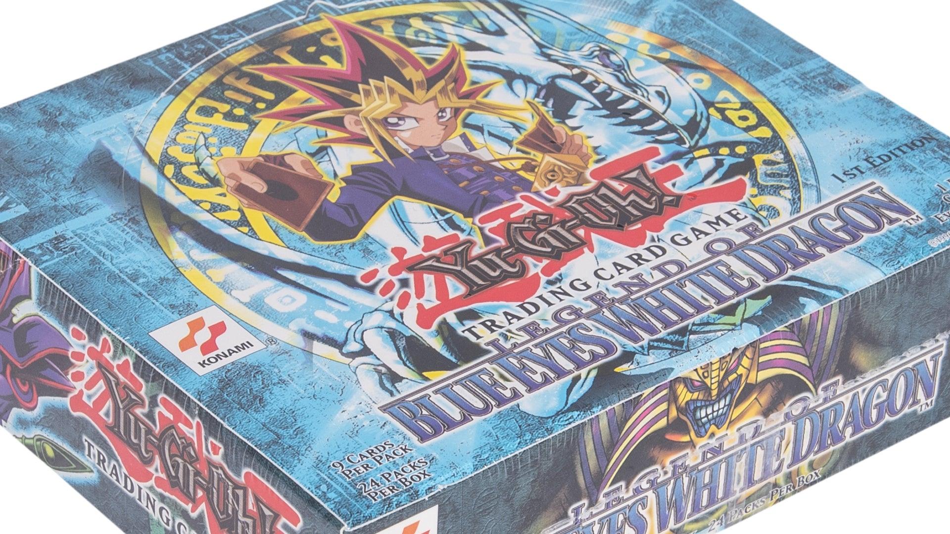 Yu-Gi-Oh! Trading Card Game Legend of Blue Eyes White Dragon booster box
