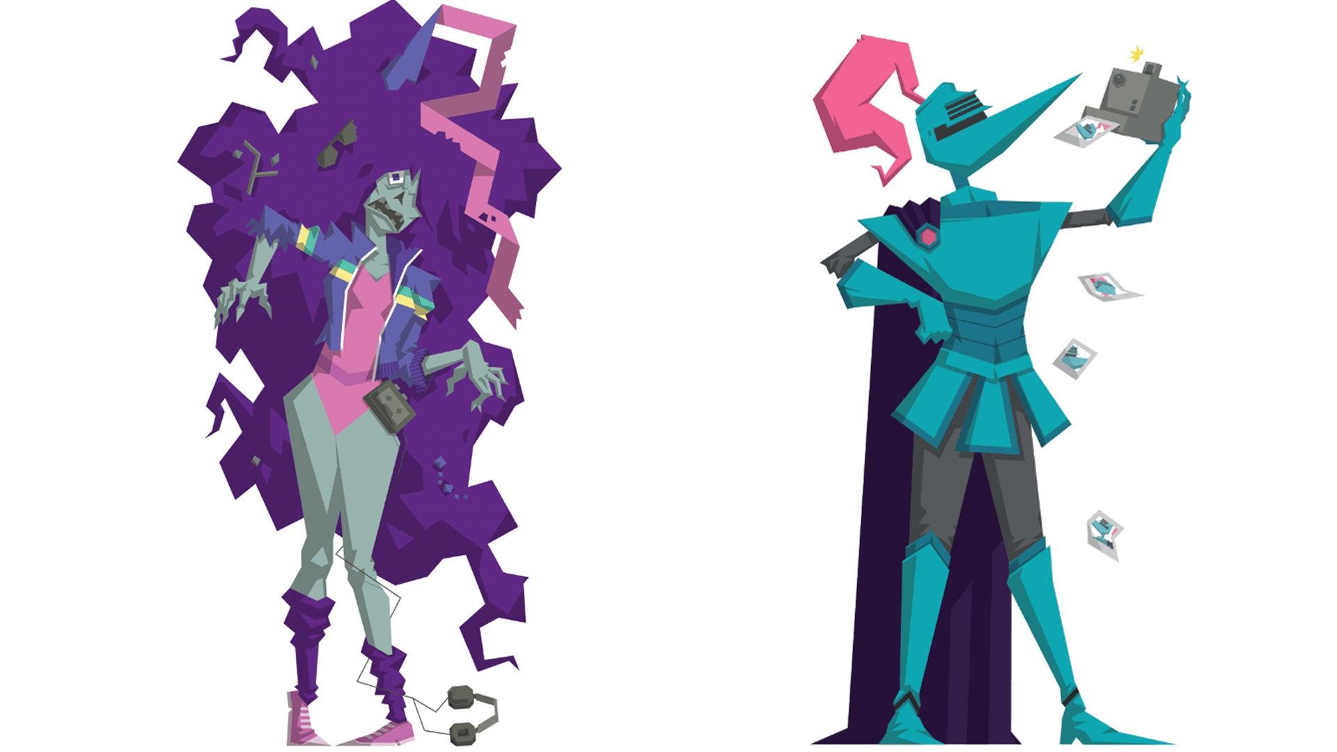 Zombie Princess and the Enchanted Maze artwork